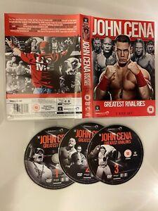WWE: John Cena's Greatest Rivalries DVD (2014) FAST DISPATCH UK