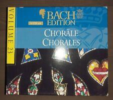 Johann Sebastian Bach Choräle - Chorals 4 CD Nordic Chamber Choir - Nicol Matt