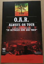 O.A.R. Rare 2003 Double Sided Promo Poster for In Between Cd Usa 11x17 Mint oar