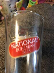 Baltimore National Bohemian Natty Mr. Boh Pint Glass