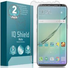 IQ Shield Anti-Glare Screen Protector for Galaxy S8  (2-Pack, Edge to Edge)