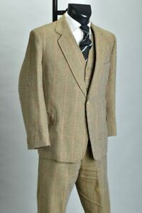 Country Gentleman's Tom Brown Bespoke Tailored 3 Piece Tweed Shooting Suit. BSR