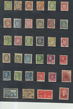 STAMPS  NORWAY 34PC LOT