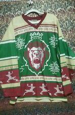 Reading ROYALS Ugly XMAS Sweater Hockey Jersey MENS SZ XXL (2XL) Christmas