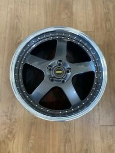 new hyper dark mirror lip 20nch simmons FR wheels and tyres holden ford