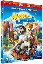 Blu-Ray 3D + 2D + DVD  //   ALPHA ET OMEGA - 3D   //  NEUF cellophané