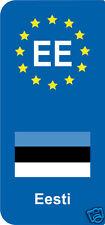 2 Stickers Europe EE Eesti
