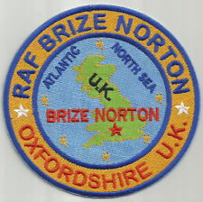 USAF BASE PATCH, RAF BRIZE NORTON, OXFORDSHIRE ENGLAND                         Y