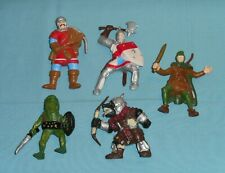 Advanced Dungeons & Dragons AD&D bendy MEN-AT-ARMS Bullywugs ORCS Elves lot