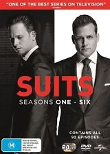 Suits: Season 1 - 6 - Anton Cropper NEW R4 DVD