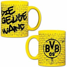 "BVB Borussia Dortmund Tasse / Kaffeebecher ""  Gelbe Wand """