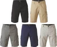 Fox Racing Slambozo Cargo Shorts - Mens Casual Regular Fit Flat Front Solid