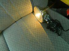 Vintage Working Chrome Car Spot Light Portable Hand held Plug-in 12 Volt GE USA