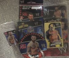 WWE  Party Set Tablecover, Cup, Tablecover, Napkins, Loot Bags, Plate