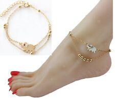 Elephant Women Ankle Chain Anklet Bracelet Foot Sandal Barefoot Beach Gift AG