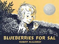 Blueberries for Sal, School And Library by McCloskey, Robert, Brand New, Free...