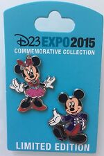 D23 Expo Mickey Mouse and Minnie Mouse Diamond Celebration 60th Costume Set LE