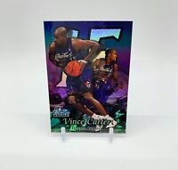 1998-99 Flair Showcase Vince Carter Row 2 Rookie Card #25