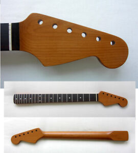 Roasted Stratocaster Guitar Neck Rosewood -21 Med/Jumbo w/Warmoth Bone Nut STRAT
