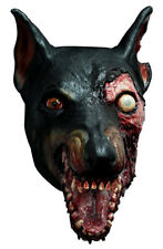LICENSED RESIDENT EVIL ZOMBIE DOG LATEX HEAD MASK