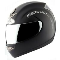 Reevu RearView MSX1 Motorcycle Helmet Black Matte casque motocyclette Retrovisor