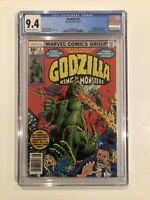 Godzilla #1 CGC 9.4 Marvel Comics 1977 Herb Trimpe