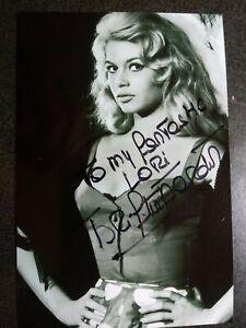 BRIGITTE BARDOT Authentic Hand Signed Autograph 4X6 Photo - SEXY FAMOUS ACTRESS