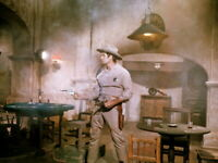The Great Bank Robbery Clint Walker in action with two guns 4x6 photo