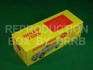 Dinky #194 Bentley Coupe (S Series) – Reproduction Box by DRRB