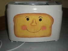 "HAND PAINTED  2 slice toaster in ""Retro"" toast design"