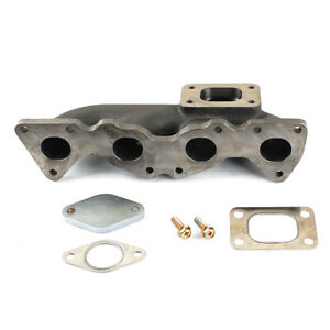 Exhaust Manifold fits Peugeot 206 GT 1.6L / T25 Turbo Inlet Flange / Low Mount