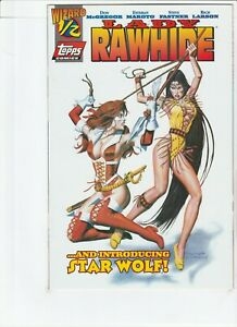 LADY RAWHIDE # 1/2 .5 WITH CERTIFICATE !! TOPPS COMICS 1996 ZORRO .99 AUCTIONS