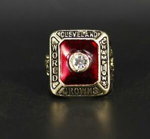 1955 Cleveland Browns American Football TEAM Ring Souvenir Fan Men Gift