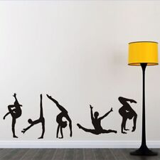 Lovely 5 Gymnastics Pattern Dancing Wall Sticker Home Decor PVC Wall Art Decal