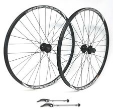 "SunRingle Inferno 27.5""  Wheelset Formula 6-Bolt Disc QR Hubs DT Spokes 9,10,11"