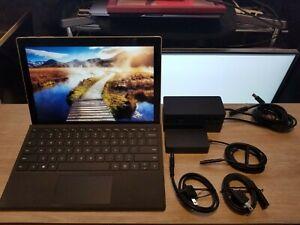 Very Good Microsoft Surface Pro 5th Gen 1796 2.5GHz, 8GB RAM, 256GB-SSD I7-7660U
