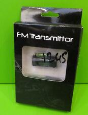 Trasmettitore FM & Mani Libere Per Vecchi iPod iPhone 4 & iPad con caricabatterie per auto