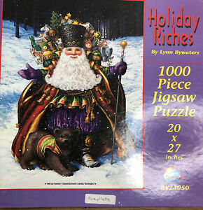 SunsOut 1000 Piece Christmas Jigsaw Puzzle Holiday Riches by Lynn Bywaters