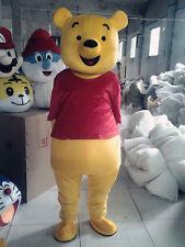 Disney Winnie The Pooh Cartoon Mascot Costume Christmas Adult Cosplay Clothes