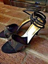 "J. RENEE Snake Charmer WOMENS Dress High Heels Shoes Size 9 ❤️ 4"""