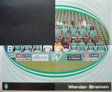 Panini 92 93 94 BL Fussball 2007/08 Team Werder Bremen