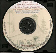 Illustrated History of Spokane County Washington + Bonus Book