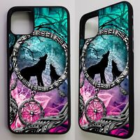 Wolf howling dream catcher wolves art case cover for iphone 11 pro / 11 pro max