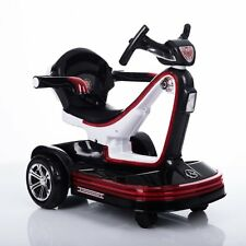 Mini Electric Toy Car for 2-3 Years Old Children – Self & Parent Control - Black