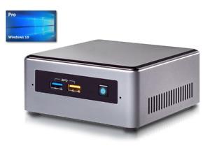 Mini PC Intel NUC - Intel NUC7CJYH bis 2,7GHz - 128GB SSD - 8GB DDR4 - Win10Pro