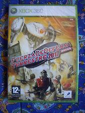 Fuerza de Defensa Terrestre 2017 - Xbox 360 - Nuevo Precintado - Edicion España