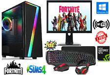 FAST Intel Core i5 Gaming PC Computer 8GB RAM 1TB Windows10 GT 710 WiFi