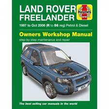 Land Rover Freelander 1997-10.2006 Benzin Diesel Reparaturanleitung Haynes