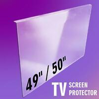TV Screen Protector CLEAR 49 inch / 50 inch Protection Cover