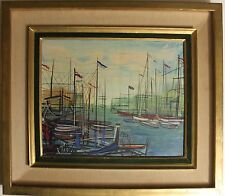 Listed French Artist Michel-Marie Poulain, Original oil Painting on Canvas